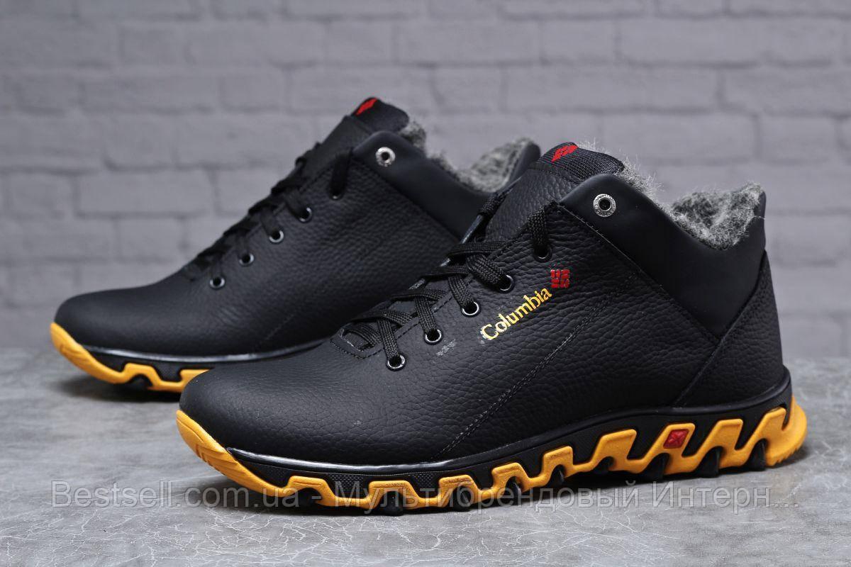 Зимние мужские ботинки 31811, Columbia Track II, черные, [ нет в наличии ] р. 40-27,0см.