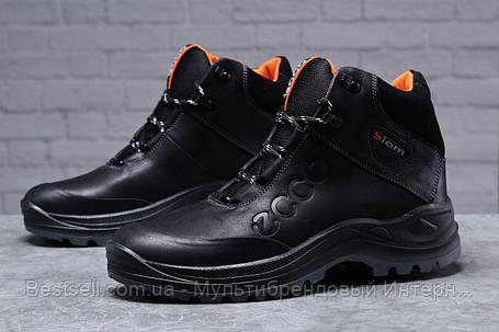 Зимові чоловічі черевики 31821, Ecco Biom, чорні, [ 40 ] р. 40-26,8 див., фото 2