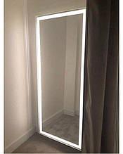 Зеркало с LED подсветкой 170х70 настенное