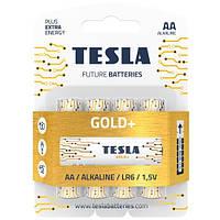 Батарейка Tesla Gold AA LR6 1.5V alkaline 1 штука