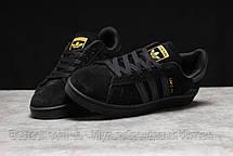 Кроссовки мужские 17901, Adidas Campus Adv, черные, [ 41 ] р. 41-26,0см., фото 2