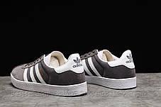 Кроссовки мужские 17961, Adidas Gazelle, серые, [ нет в наличии ] р. 43-28,0см., фото 2