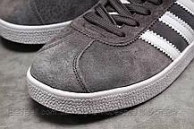 Кроссовки мужские 17961, Adidas Gazelle, серые, [ нет в наличии ] р. 43-28,0см., фото 3