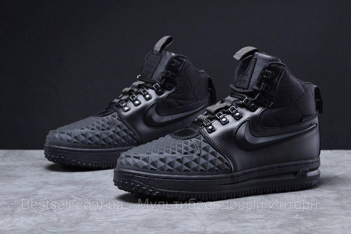 Зимові чоловічі черевики 31831, Nike LF1 Duckboot (TOP AAA), чорні, [ немає ] р. 44-28,5 див.