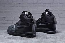 Зимові чоловічі черевики 31831, Nike LF1 Duckboot (TOP AAA), чорні, [ немає ] р. 44-28,5 див., фото 3