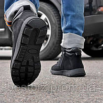Зимові чоловічі черевики 31841, Camel (на хутрі, в коробці), чорні, [ 42 43 44 45 ] р. 42-27,5 див., фото 2