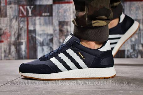 Кроссовки мужские 15741, Adidas Iniki, темно-синие, [ 46 ] р. 45-29,0см., фото 2