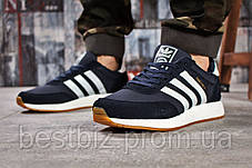 Кросівки чоловічі 15741, Adidas Iniki, темно-сині, [ 46 ] р. 45-29,0 див., фото 2