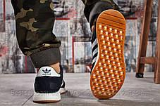 Кросівки чоловічі 15741, Adidas Iniki, темно-сині, [ 46 ] р. 45-29,0 див., фото 3