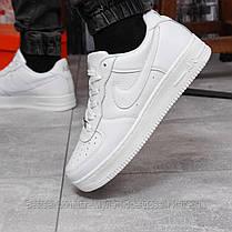 Кросівки чоловічі 17972, Nike Air Force 1, білі, [ 43 44 45 ] р. 43-28,0 див., фото 2