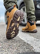 Зимові чоловічі черевики 31843, Camel (на хутрі, в коробці), пісочні, [ 41 43 44 ] р. 41-27,0 див., фото 3