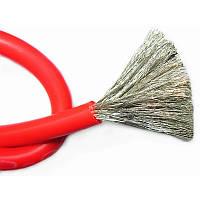 Провод силиконовый 1 жила 26AWG (0,15мм.кв.), красный, 1м.