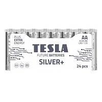 Батарейка Tesla Silver AA LR6 1.5V alkaline 1 штука