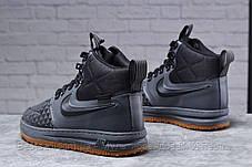 Зимові чоловічі черевики 31851, Nike LF1 Duckboot (TOP AAA), темно-сірі, [ немає ] р. 41-26,4 див., фото 2