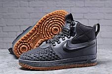 Зимові чоловічі черевики 31851, Nike LF1 Duckboot (TOP AAA), темно-сірі, [ немає ] р. 41-26,4 див., фото 3