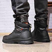 Зимові чоловічі черевики 31881, Gorgeous (на хутрі, в коробці), чорні, [ 42 43 45 ] р. 42-27,5 див., фото 3