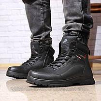 Зимові чоловічі черевики 31881, Gorgeous (на хутрі, в коробці), чорні, [ 42 43 45 ] р. 42-27,5 див., фото 2