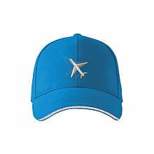 """Кепка """"Самолёт"""" AVIAMERCH, цвет: голубой"""