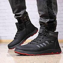 Зимові чоловічі черевики 31891, Work and Leisure (на хутрі, в коробці), чорні, [ 44 ] р. 44-29,0 див., фото 2