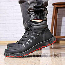 Зимові чоловічі черевики 31891, Work and Leisure (на хутрі, в коробці), чорні, [ 44 ] р. 44-29,0 див., фото 3