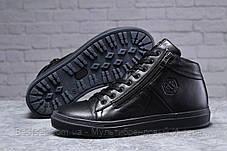 Зимові чоловічі черевики 31921, Philipp Plein (хутро), чорні, [ 41 ] р. 41-27,0 див., фото 3