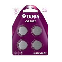 Батарейка Tesla 3V CR2032 Lithium (5004LC) 1 ШТУКА