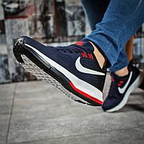 Кроссовки женские 16033, Nike Zoom Pegasus, темно-синие, [ нет в наличии ] р. 39-24,5см., фото 3