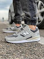 Кросівки чоловічі 18041, New Balance 530, сірі, [ 41 43 44 45 46 ] р. 41-26,0 див., фото 2