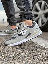 Кросівки чоловічі 18041, New Balance 530, сірі, [ 41 43 44 45 46 ] р. 41-26,0 див., фото 3