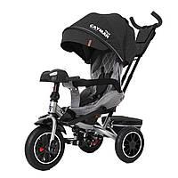 Детский трёхколёсный велосипед Cayman, «Tilly» (T-381/7), цвет Dark Grey (тёмно-серый в льне)