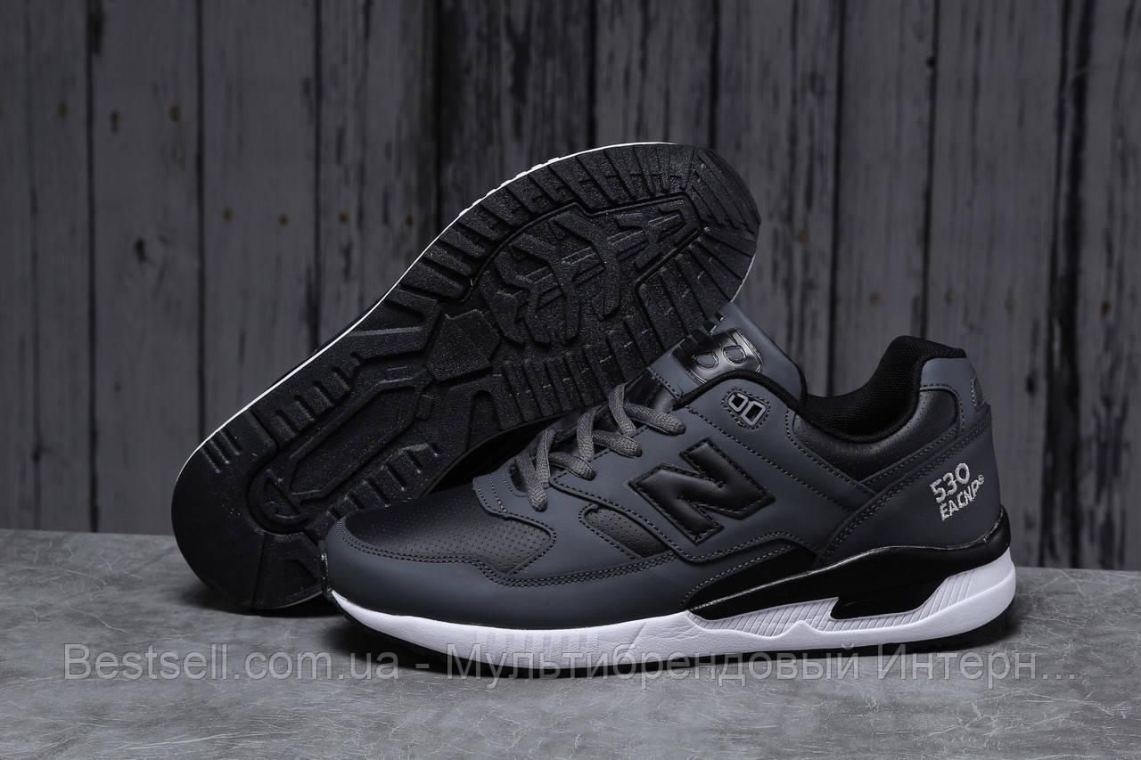 Кросівки чоловічі 18042, New Balance 530, темно-сірі, [ немає ] р. 43-27,5 див.