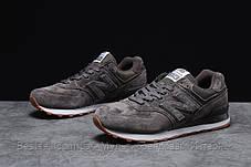 Кросівки чоловічі 18051, New Balance 574, темно-сірі, [ 43 45 ] р. 42-27,0 див., фото 2
