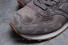 Кросівки чоловічі 18051, New Balance 574, темно-сірі, [ 43 45 ] р. 42-27,0 див., фото 3
