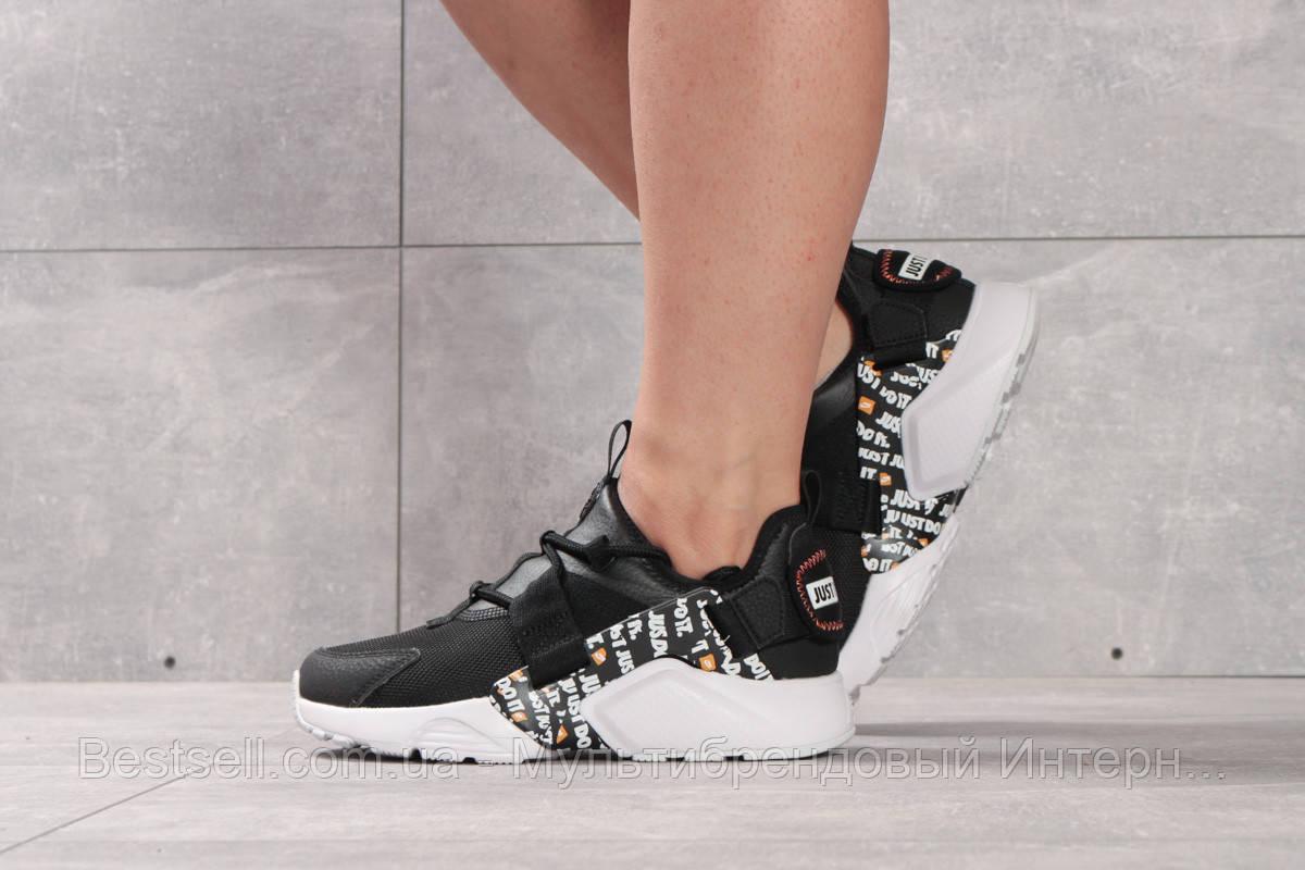 Кроссовки женские 16382, Nike Air Huarache City Low, черные, [ 36 37 ] р. 36-22,5см.