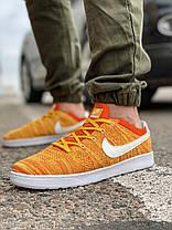 Кроссовки мужские 18082, Nike Tennis Classic Ultra Flyknit, оранжевые, [ 41 42 43 45 ] р. 41-26,5см., фото 3