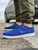 Кросівки чоловічі 18083, Nike Tennis Classic Ultra Flyknit, темно-сині, [ 41 42 43 44 45 ] р. 41-26,5 див., фото 3