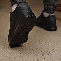 Кроссовки мужские 18111, Air Max, черные, [ 45 ] р. 45-29,7см., фото 3