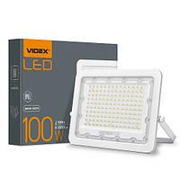 Светодиодный прожектор Videx 100W 5000K 220V (VL-F2e-1005W)