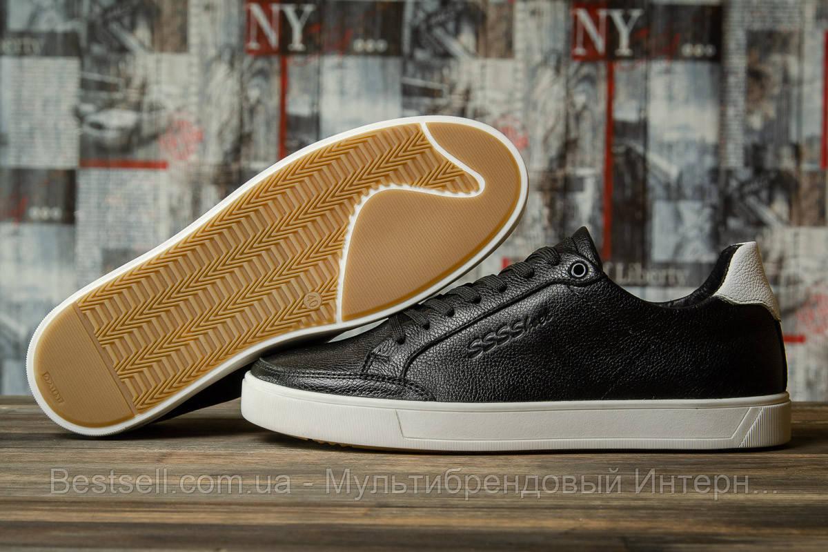 Кроссовки мужские 16632, SSS Shoes, черные, [ 40 43 44 45 ] р. 40-26,6см.