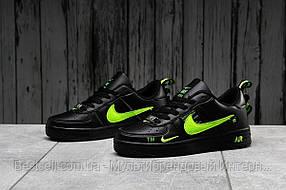 Кроссовки женские 16694, Nike Air Force 1, черные, [ 36 37 38 ] р. 36-22,5см.