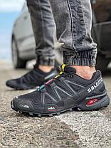 Кросівки чоловічі 18173, Salomon Speedcross 3, чорні, [ 42 43 44 45 ] р. 41-25,5 див., фото 3