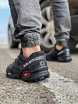Кросівки чоловічі 18173, Salomon Speedcross 3, чорні, [ 42 43 44 45 ] р. 41-25,5 див., фото 2