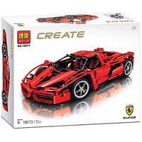 """Детский конструктор, конструктор для мальчика Bela 10571 Create (аналог Lego 8653) """"Enzo Ferrari"""