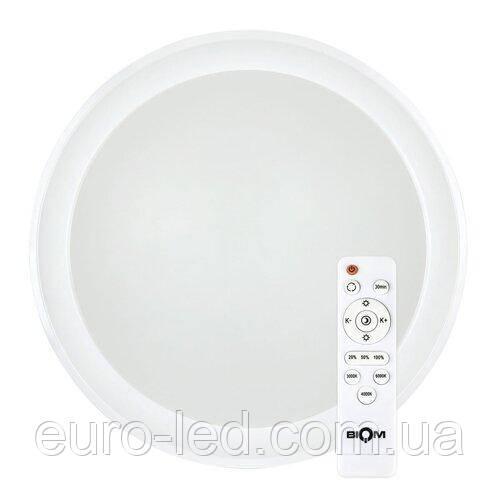 Світильник світлодіодний Biom SMART SML-R10-80 3000-6000K 80Вт з д/у