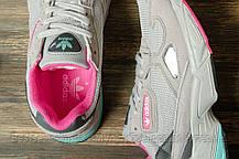 Кроссовки женские 16744, Adidas Falcon, серые, [ 41 ] р. 41-26,3см., фото 3