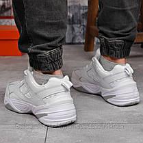Кросівки чоловічі 18201, Nike M2K Tekno, білі, [ 44 ] р. 44-28,5 див., фото 2