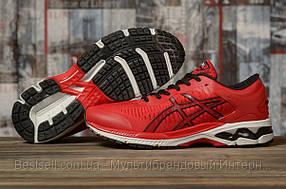 Кросівки чоловічі 16793, Asics Gel-Kayano 25, червоні, [ 44 46 ] р. 43-28,0 див. 44