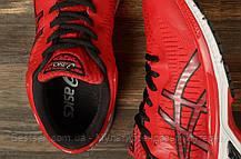 Кроссовки мужские 16793, Asics Gel-Kayano 25, красные, [ 44 46 ] р. 44-28,5см., фото 3