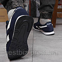 Кроссовки мужские 18212, Reebok Classic, темно-синие, [ нет в наличии ] р. 45-29,0см., фото 3