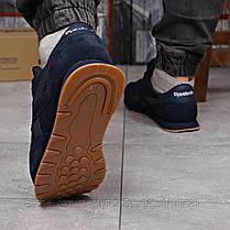 Кроссовки мужские 18214, Reebok Classic, темно-синие, [ нет в наличии ] р. 45-29,0см., фото 3